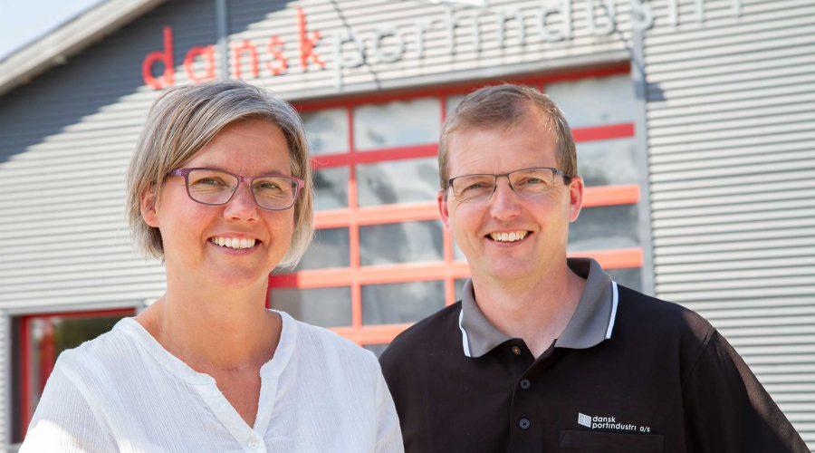 Lise Harbo og Kim Dall Hansen - Dansk Portindustri